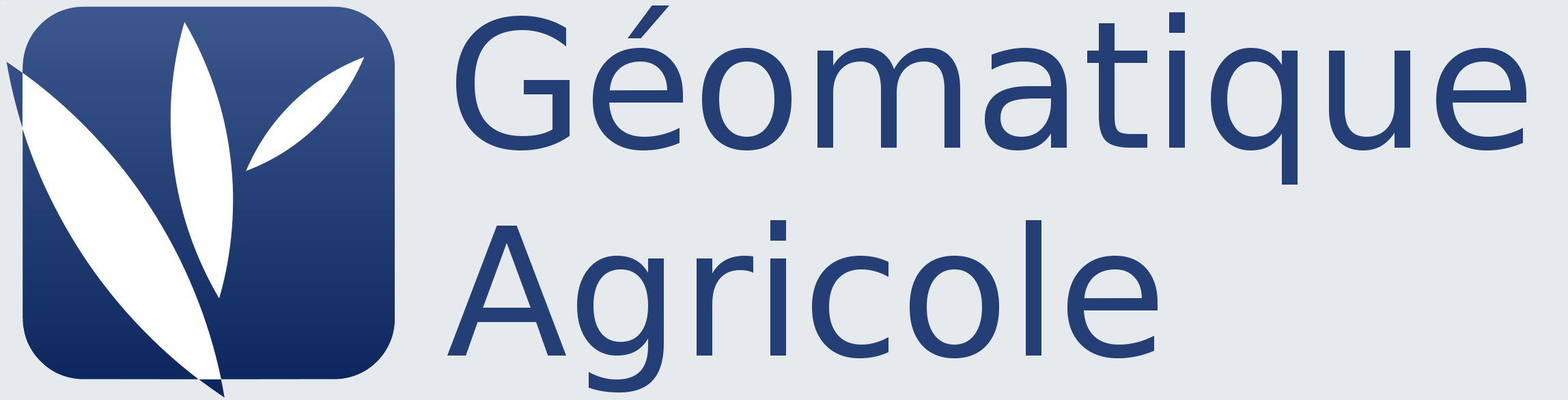 Géomatique Agricole